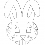 Máscara do coelho