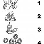 Símbolos da Páscoa e Quantidade