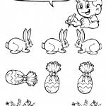 Páscoa – colorir os diferentes