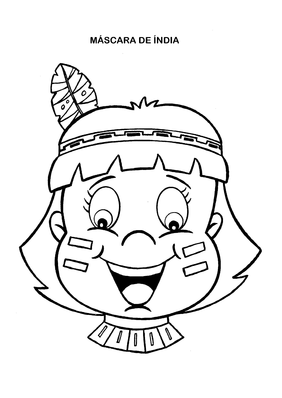 Máscara de índia