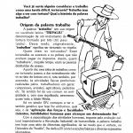 Texto sobre o Dia do Trabalhador