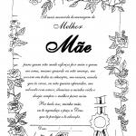 Modelo de Certificado para o Dia das Mães