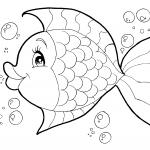 Desenhos para imprimir e colorir de Peixes