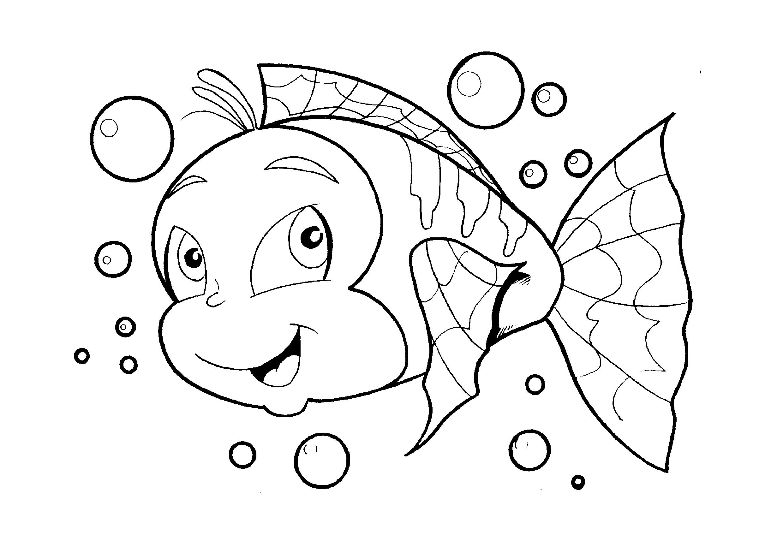 Desenho de peixe