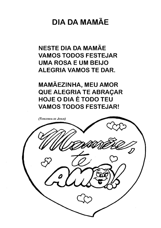 """Letra da música """"Dia da Mães"""""""