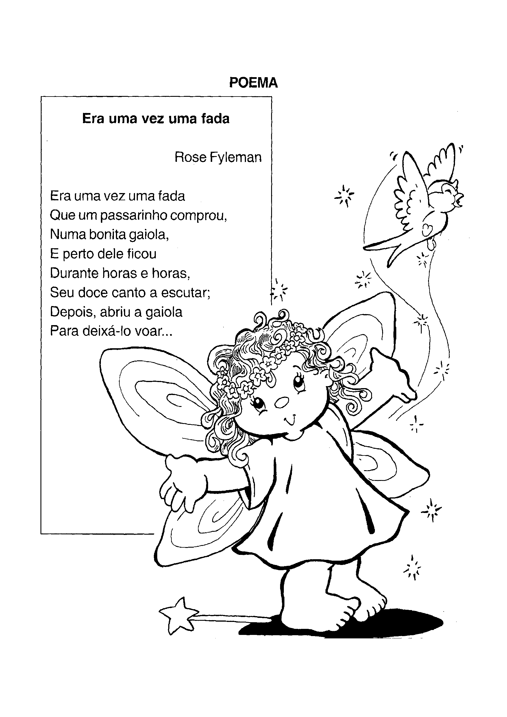 Poema Era uma vez uma Fada