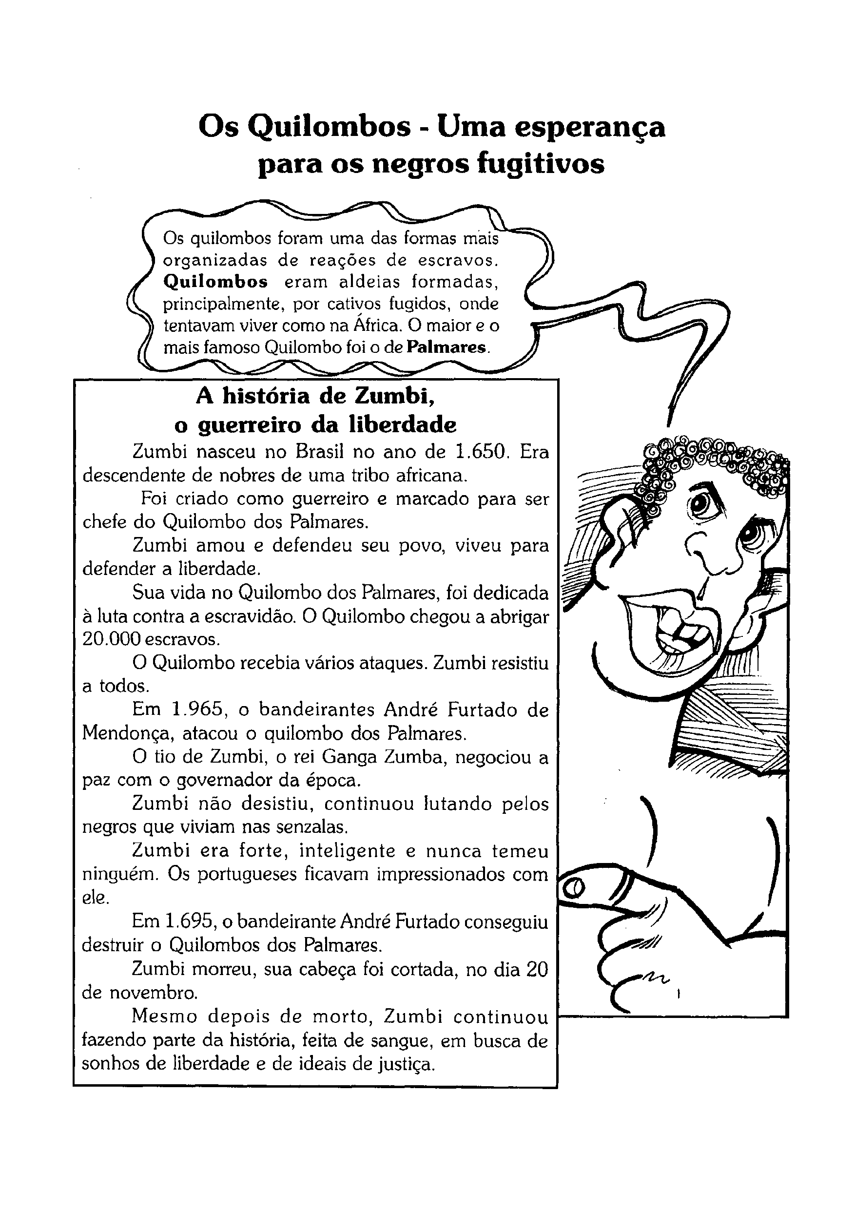 Texto - Os Quilombos