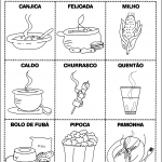 Atividades de Alfabetização sobre Festa Junina