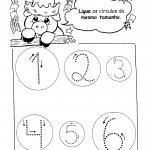 Atividade de ligar numerais