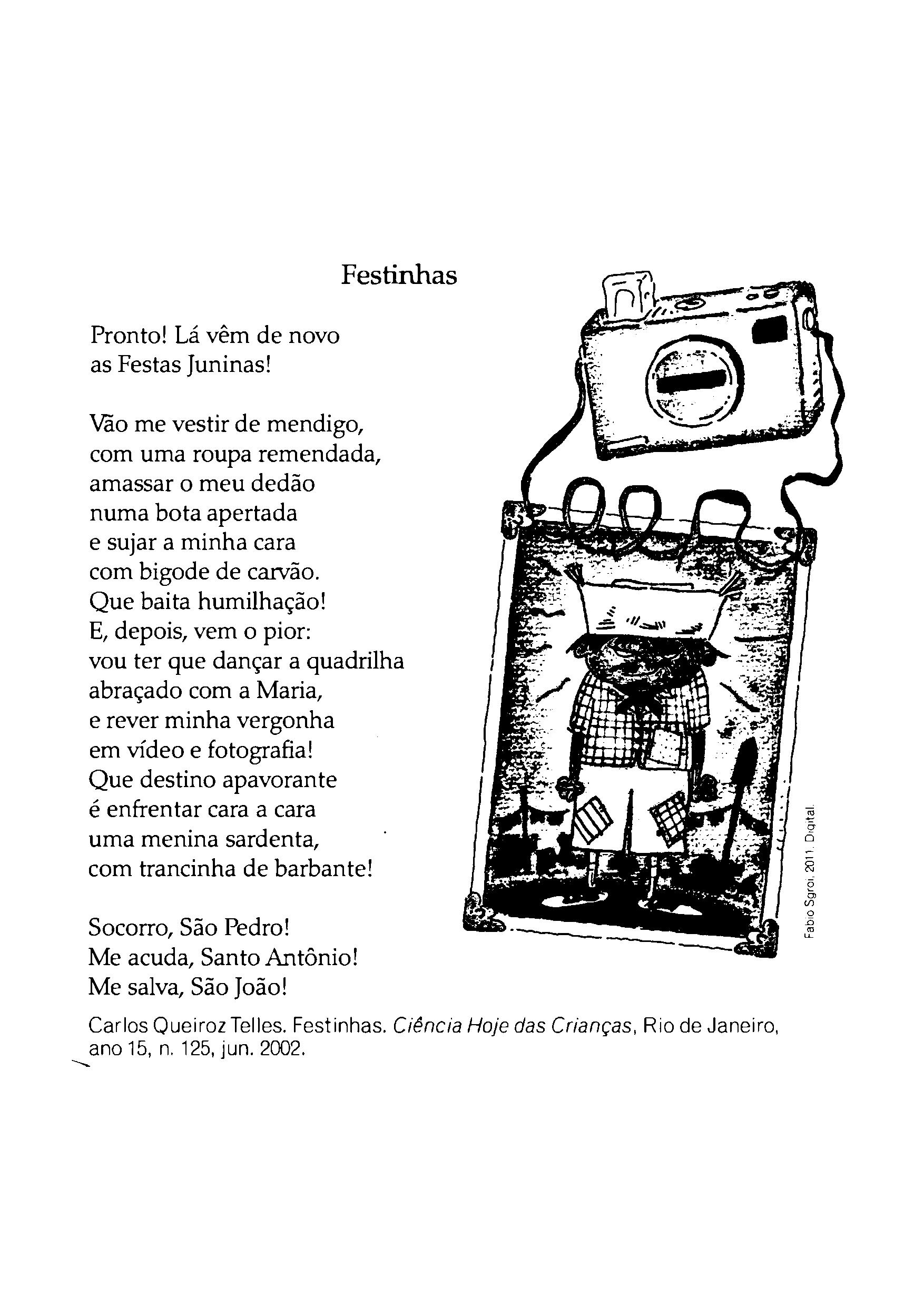 Texto sobre Festa Junina - Festinhas
