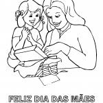Desenhos para o Dia das Mães para imprimir e colorir