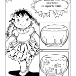 Atividade de Desenhar sobre Festa Junina