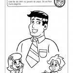 Atividades com desenhos para o Dia dos Pais