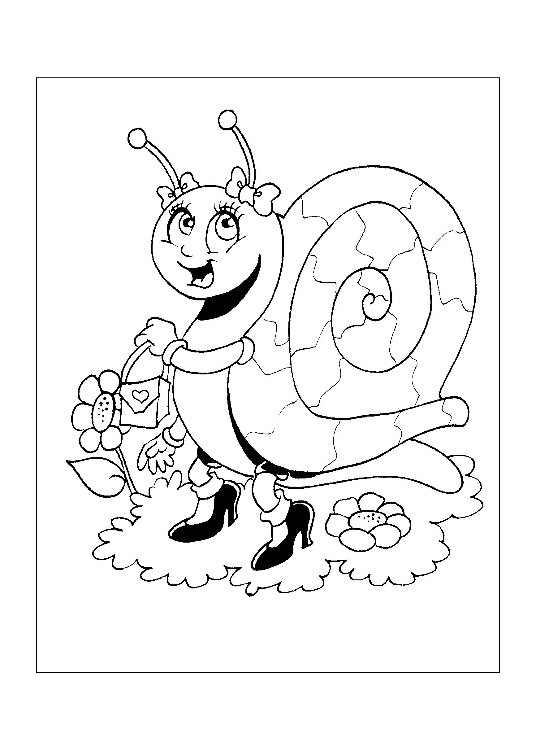 0160-desenho-colorir-caracol