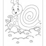 Desenhos para imprimir e colorir de Caracois