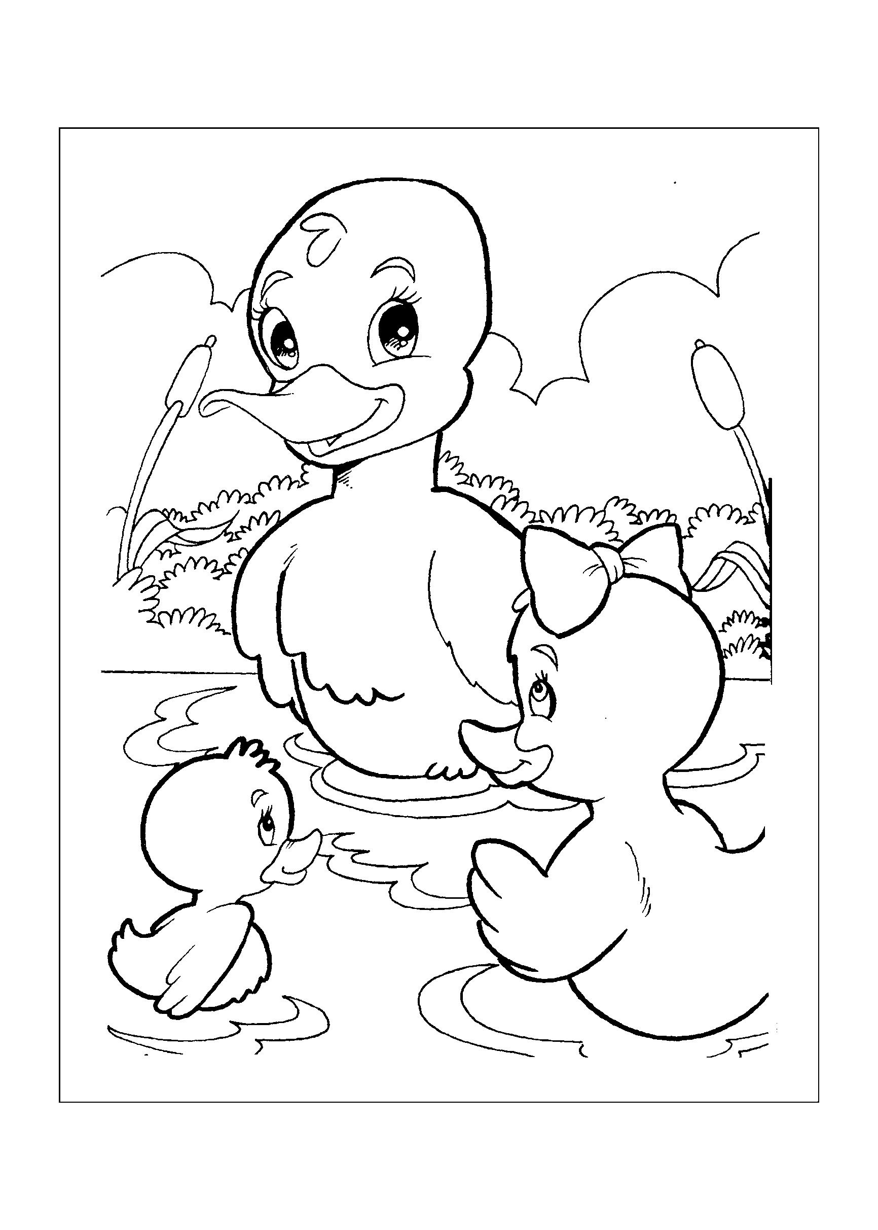 0167-desenho-colorir-pato