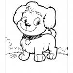 Desenhos para imprimir e colorir de Cachorros