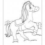 Desenhos para imprimir e colorir de Cavalos