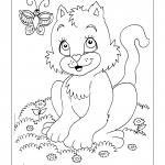 Desenhos para imprimir e colorir de Gatos
