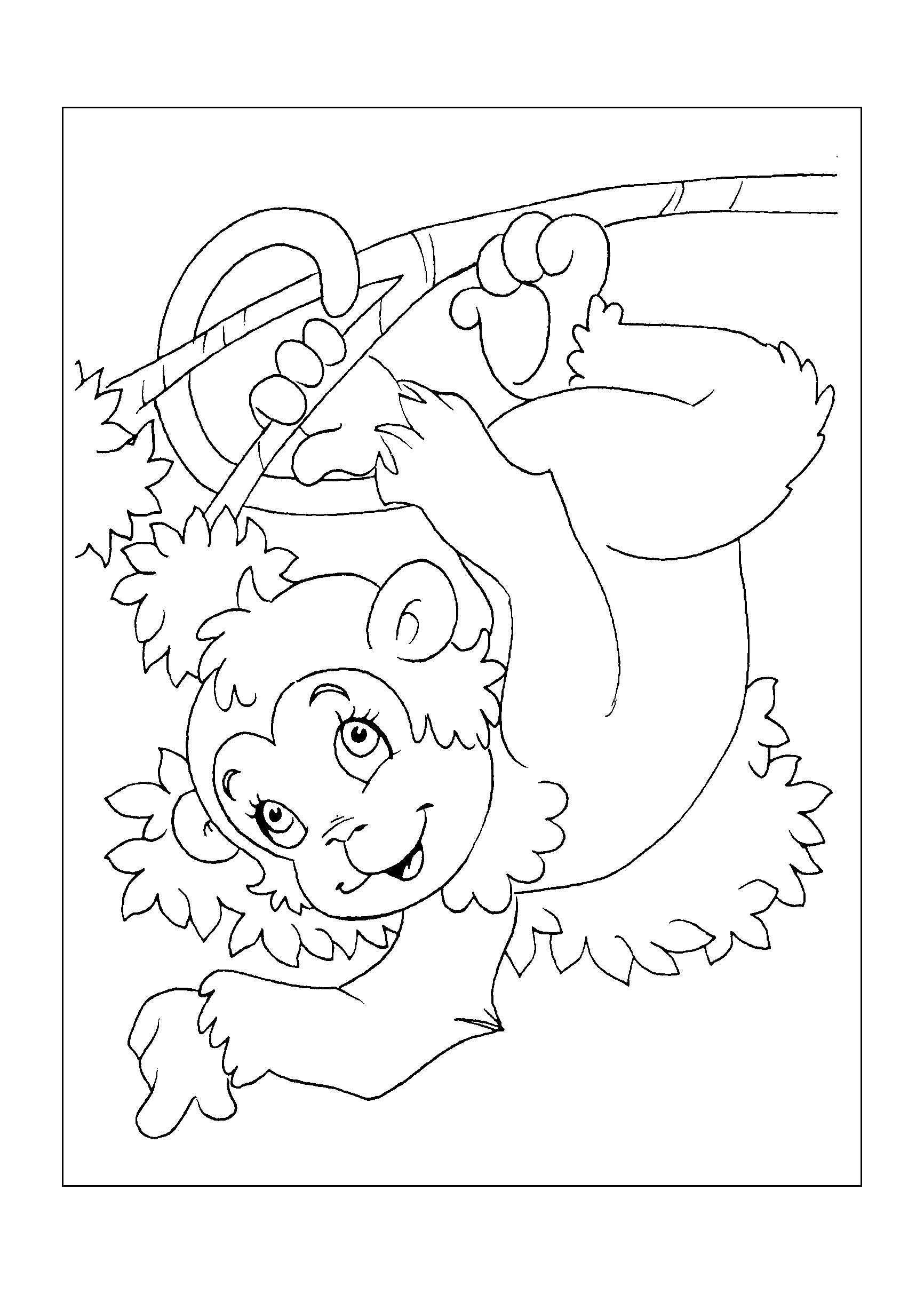 0176-desenho-colorir-macaco
