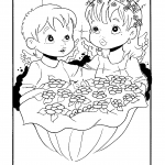 Desenhos para imprimir e colorir de Anjos