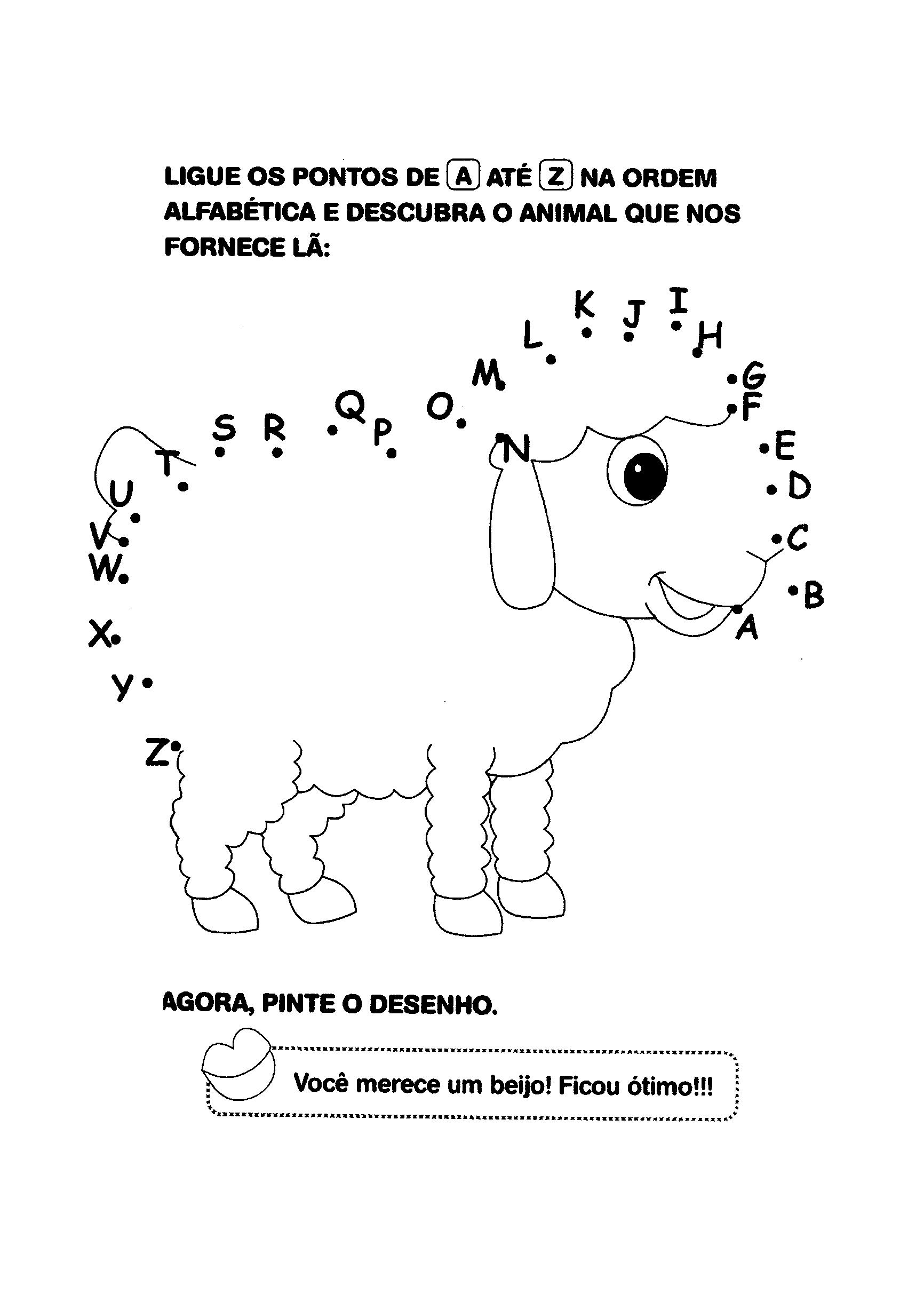 Ligar pontos de A a Z