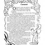 Textos sobre a origem do Carnaval para imprimir