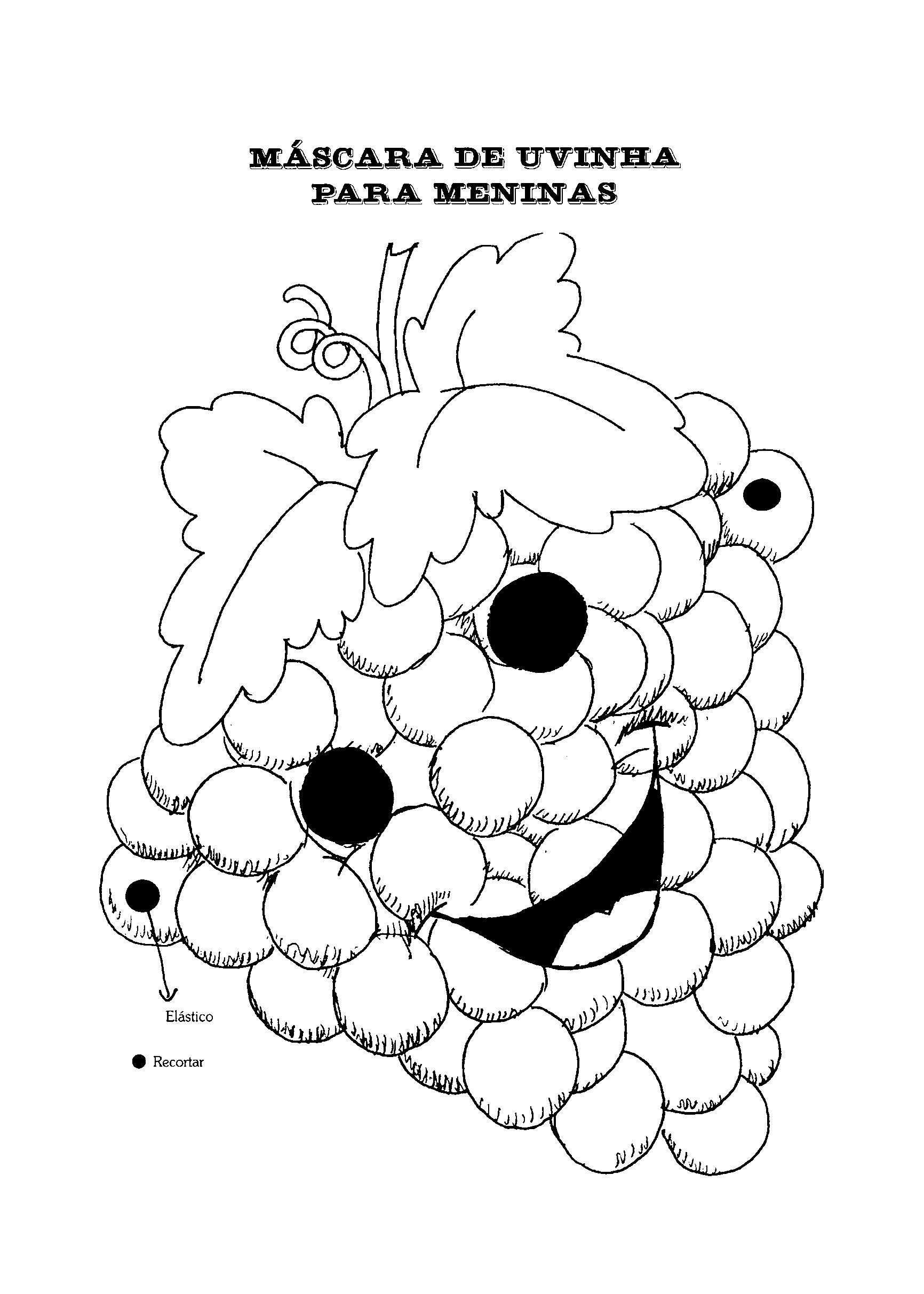 Máscara de Uva