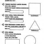 Atividades com formas geométricas para imprimir