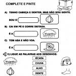 Atividades com X ou CH para alfabetização