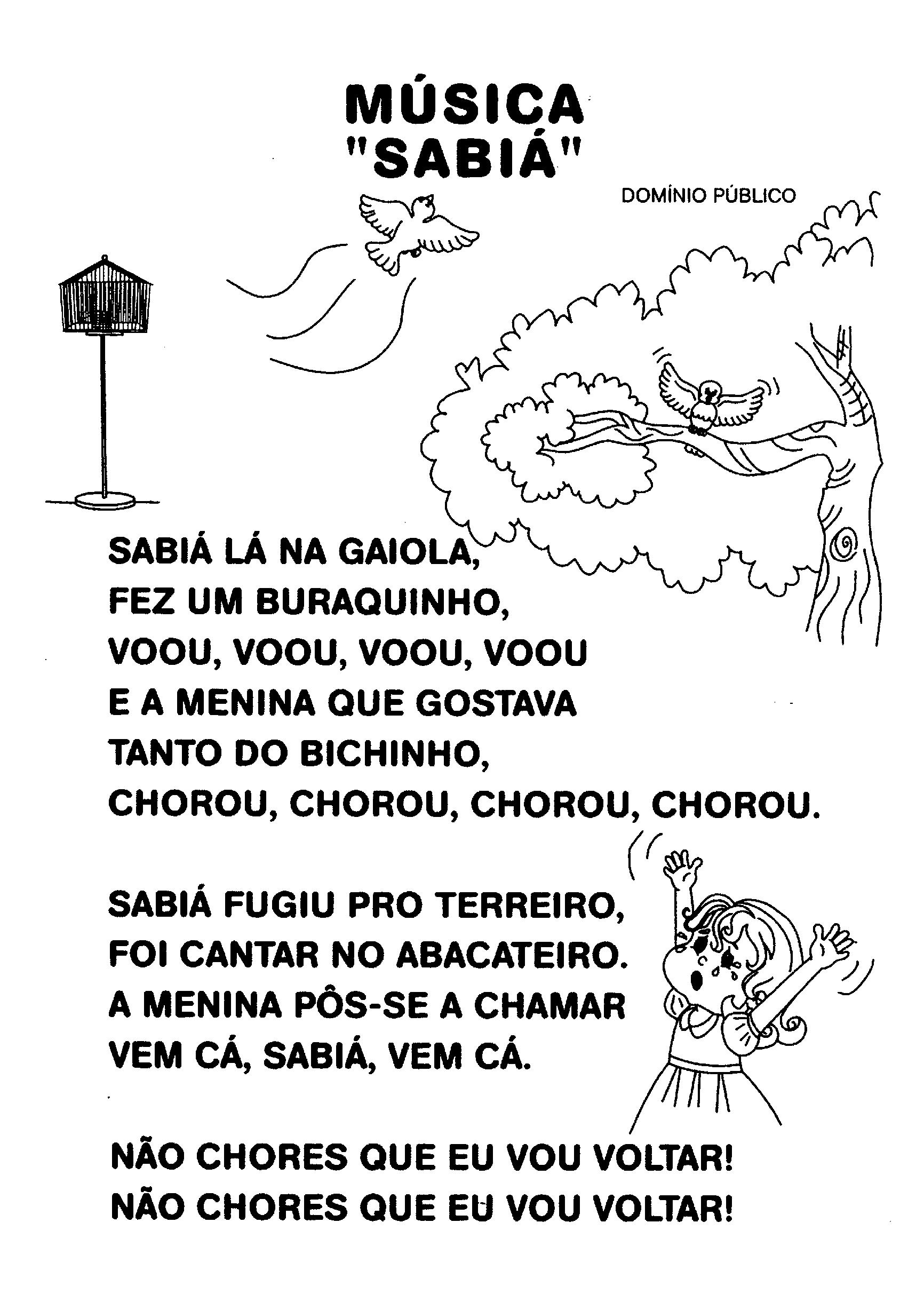 Poema Sabiá