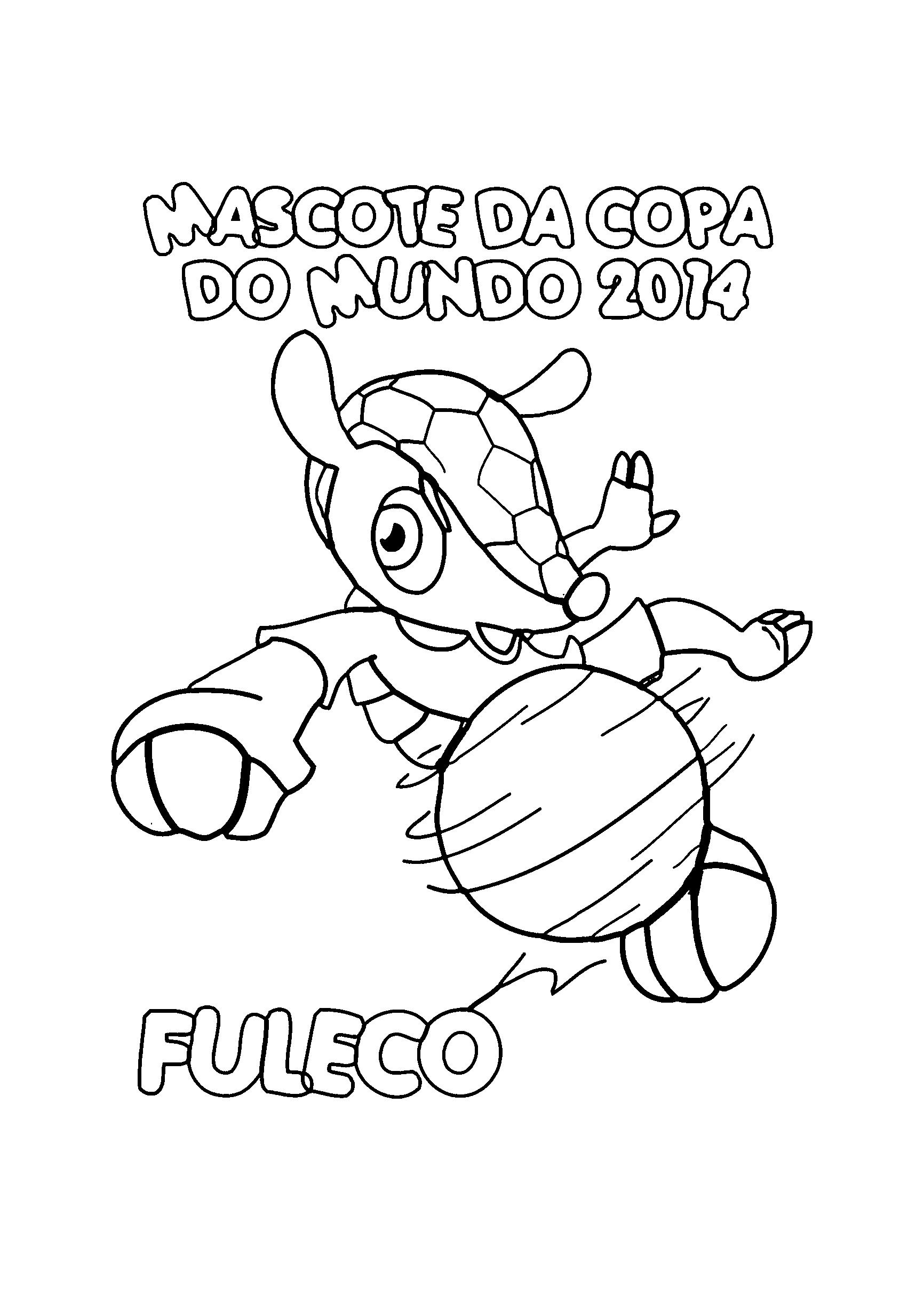 Mascote Fuleco da Copa de 2014