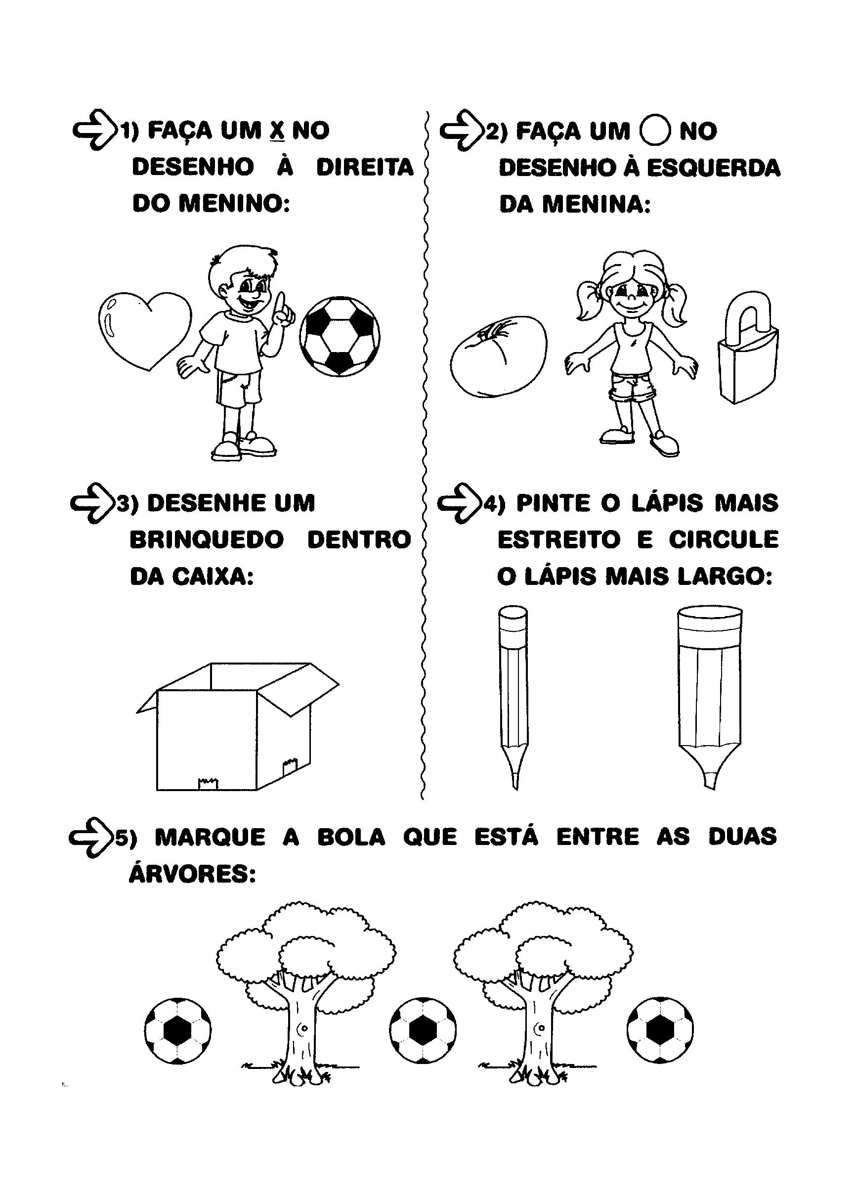 Alfabetização - Lateralidade