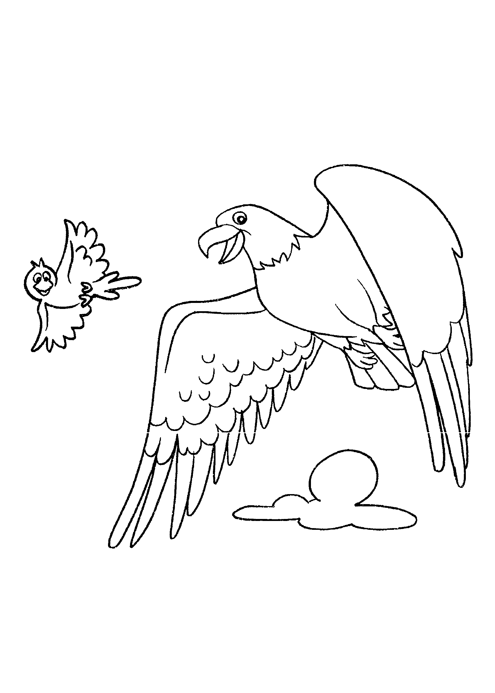 Extremamente Desenhos de Aves para imprimir e colorir - Só Atividades LO55