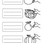 Atividades de Inglês dos Vegetais e Frutas para 4º ano do Ensino Fundamental
