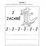 Atividades com a Letra J para alfabetização