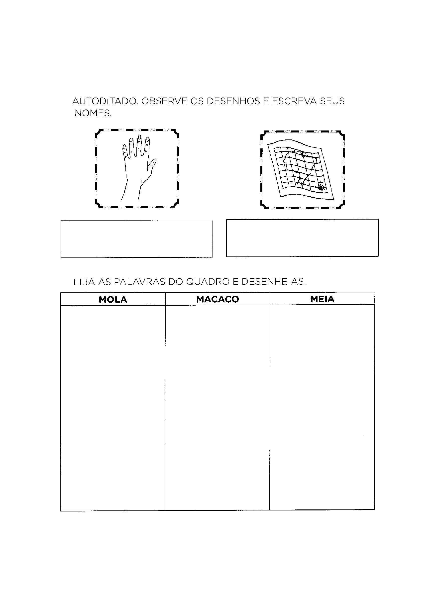 Autoditado com letra M