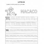 Atividades com a Letra M para alfabetização