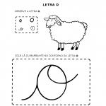 Atividades com a Letra O para alfabetização