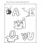 Atividades com as Vogais para Alfabetização