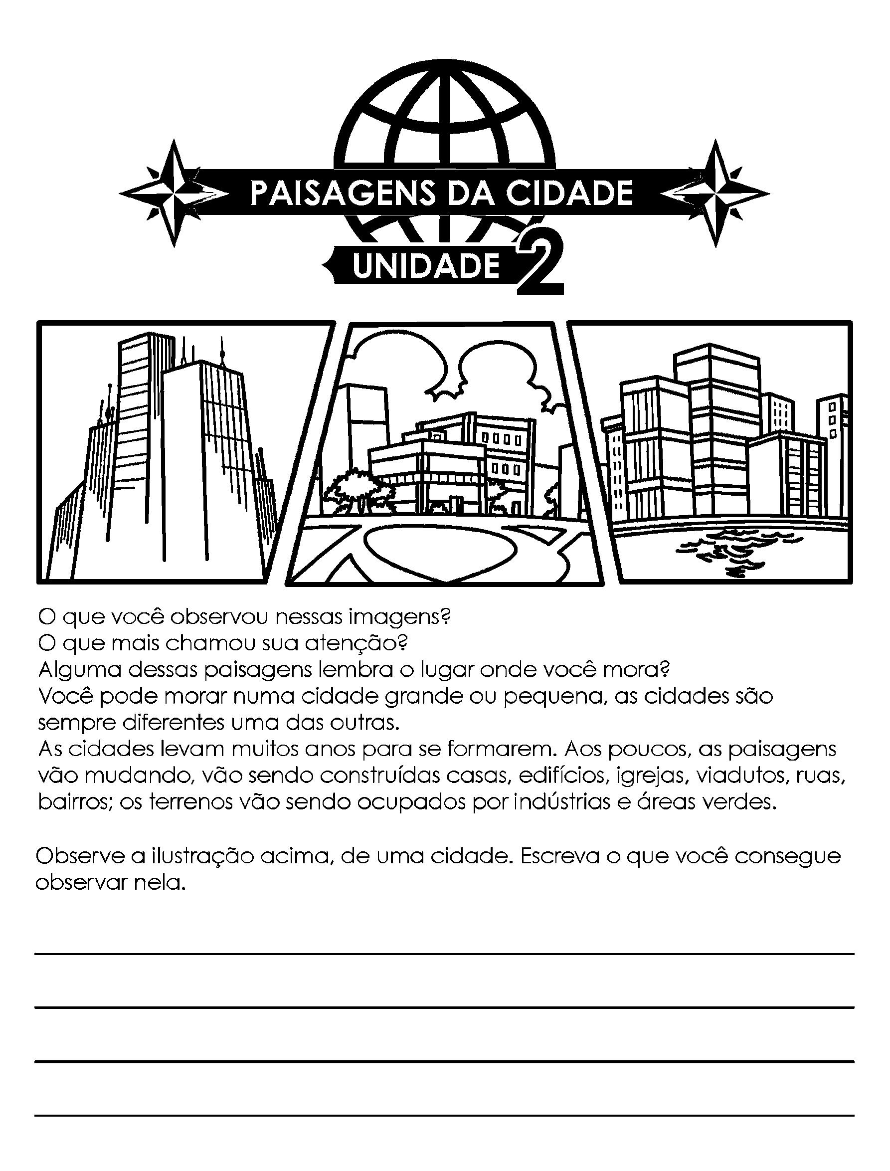 Paisagens da cidade - Introdução