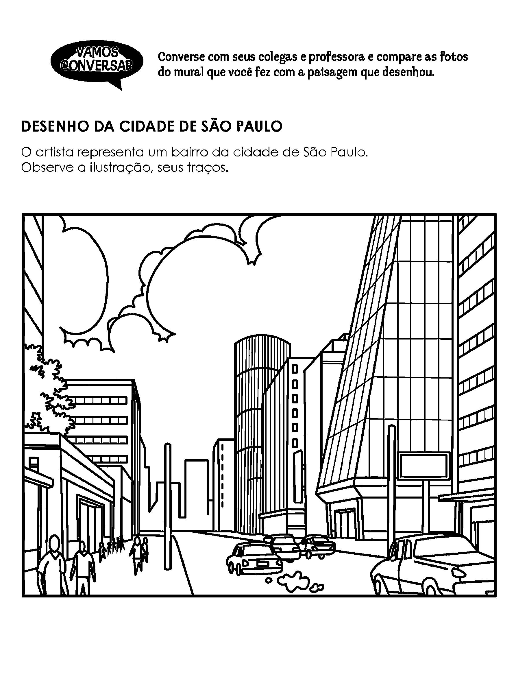 Desenho de São Paulo