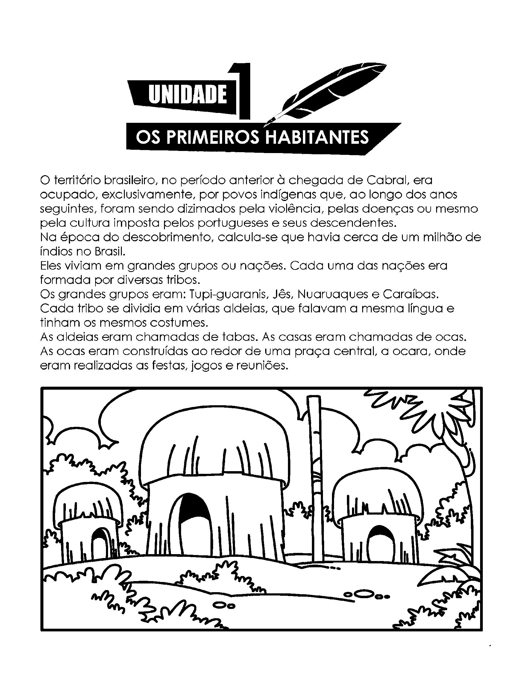 Os Primeiros Habitantes - Introdução