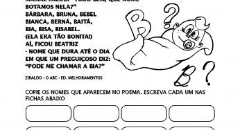So Atividades Page 2 Of 4 Atividades Educativas E Desenhos