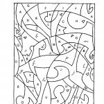 Pinte onde há letra cursiva