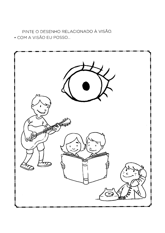 Desenhos relacionados à visão