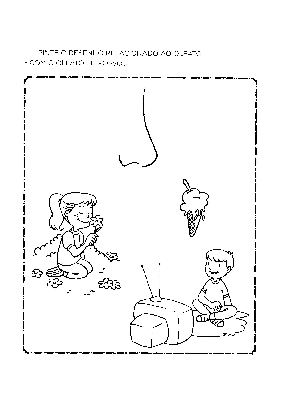 Pintar item relacionado ao olfato