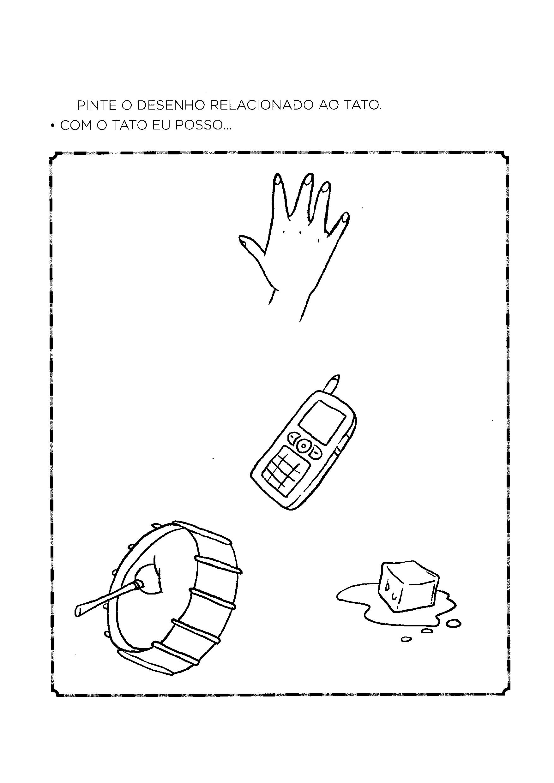 Pintar item relacionado ao tato