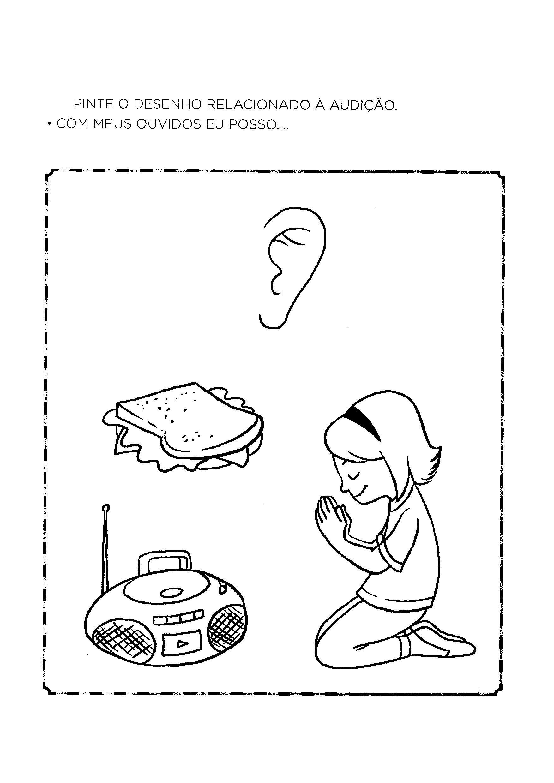 Pintar item relacionado à audição