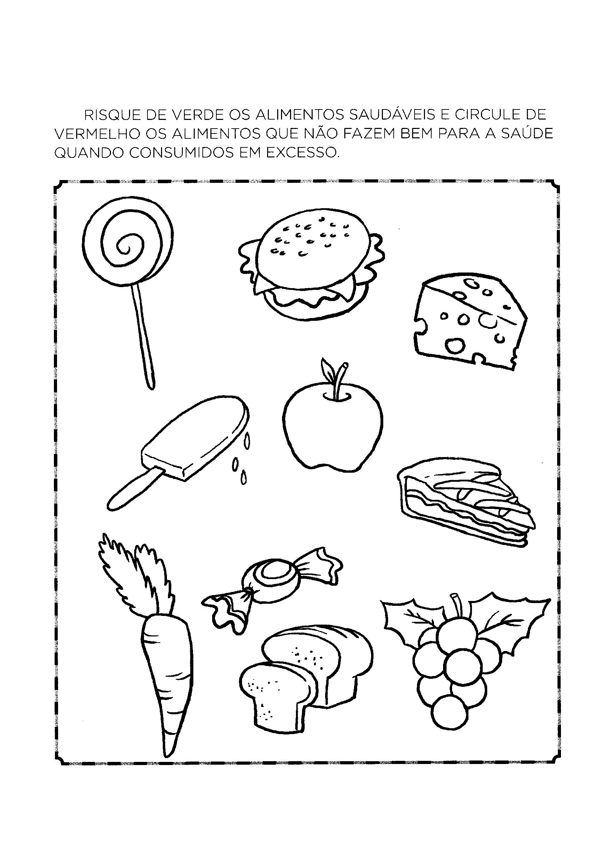 Favoritos Atividades sobre Alimentação Saudável para Educação infantil - Só  MC21